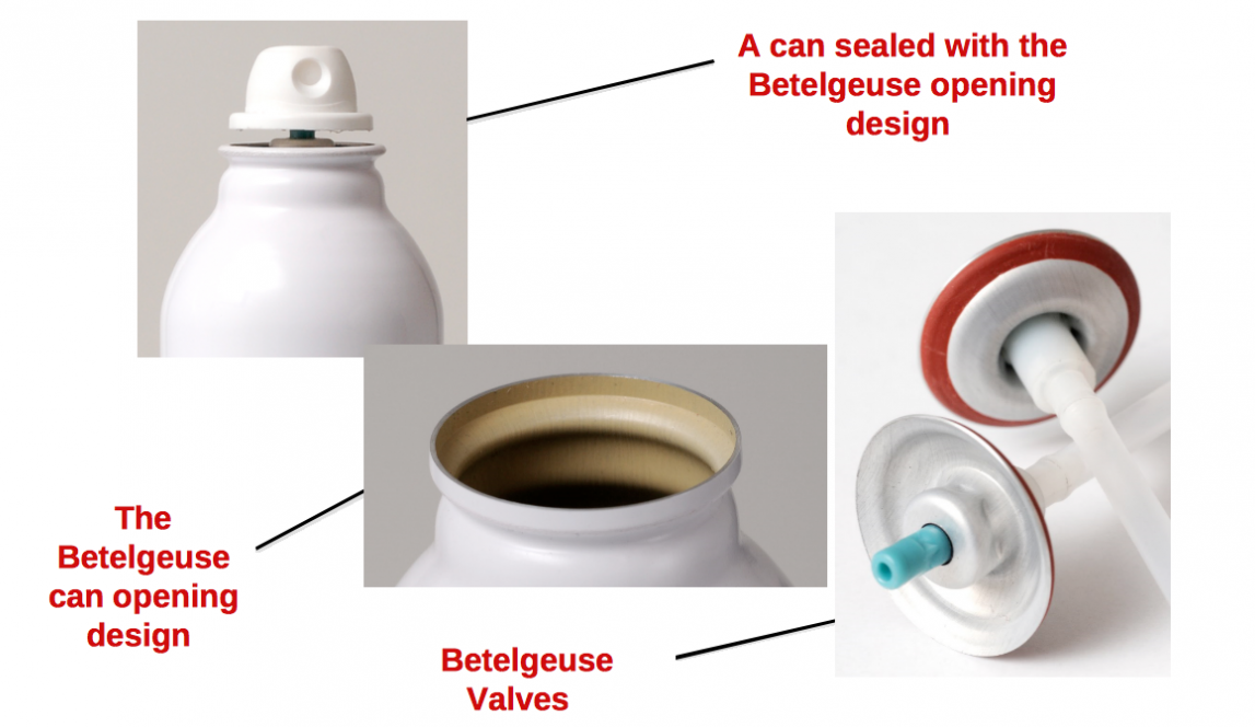 Betelgeuse project - The Valve Mounting cup